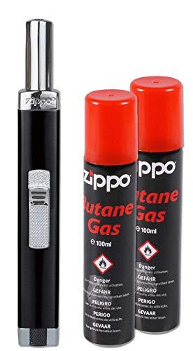 Zippo MPL Black Matte + 2 Flaschen Gas NEU&OVP