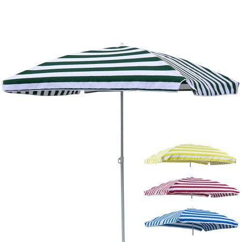 Sonnenschirm rechteckig 120X180 cm, knickbar, langlebiges Polyester, blau • Strand Strandschirm Garten Schirm Sonnenschutz