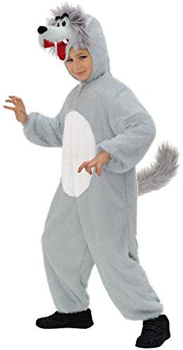 WIDMANN Widman - Disfraz de lobo infantil, talla 3-5 años (S/9790O)