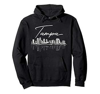 Tampa FL Skyline Pullover Hoodie