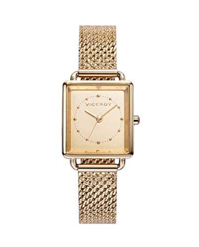 VICEROY - Reloj Acero IP Dorado Brazalete Sra Va - 401100-97