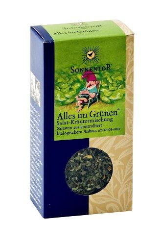 Sonnentor Alles im Grünen Salatgewürz, 1er Pack (1 x 20 g) - Bio