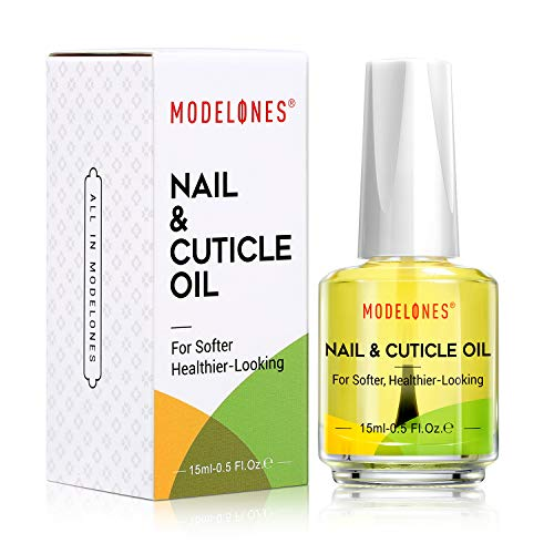Modelones Cuticle Oil Cuticle Softener for Nail Care Cuticle Nail Polish Nail Oil 15ML