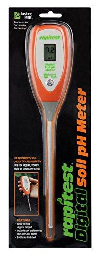 Read About BombDealsStore Luster Leaf 1845 Rapitest Digital Soil Garden Plant pH Meter Sensor Test T...
