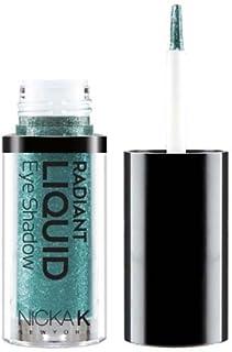 NICKA K Radiant Liquid Eye Shadow - Marineblue Sparkle (並行輸入品)