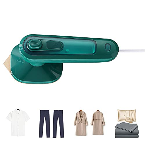 MZNTBW Dampfglätter Kleidung Professionell Unterstützt Trockenes und Nasses Bügeln 30S Schnellaufheizung Überhitzungsschutz Dauerhaft Dampfbürste Mini Travel und Zuhause Steamer