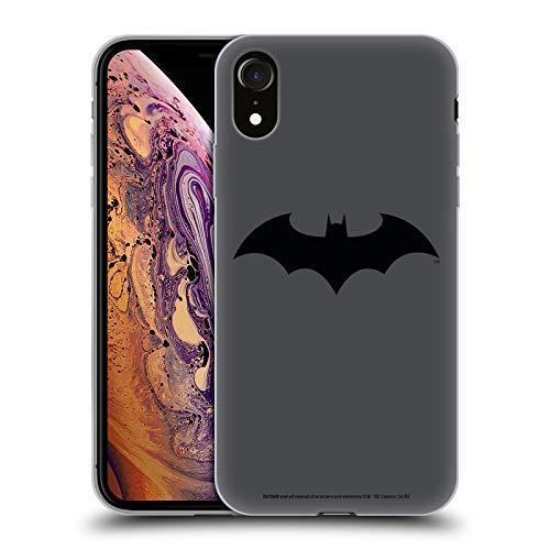 Head Case Designs Officiel Batman DC Comics Hush Logos Coque en Gel Doux Compatible avec Apple iPhone XR