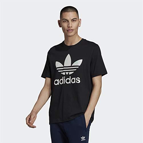 adidas GM3268 Trefoil Holo T T-Shirt Mens Black S