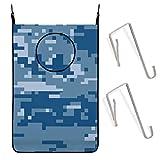 Beauty-Design Us - Cesta para colgar, diseño de camuflaje, color azul marino