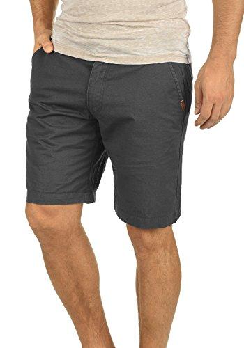 !Solid Thement Herren Chino Shorts Bermuda Kurze Hose Aus 100{d1e1e5a43aaab7ec8eaa515aa8cbd8cdb21cb6649eb7ec8cd87ca10449c08315} Baumwolle Regular Fit, Größe:L, Farbe:Dark Grey (2890)