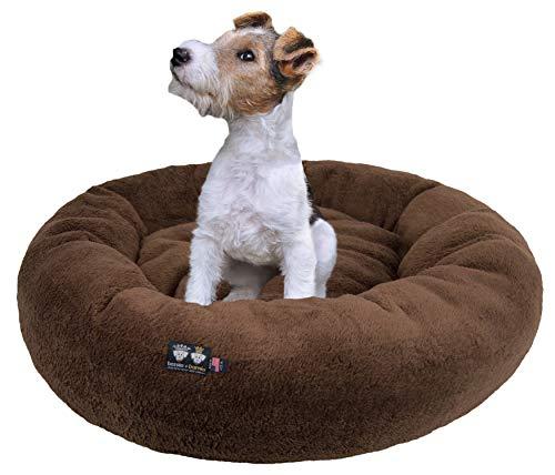 Ultra Plush Deluxe Comfort Pet Dog & Cat Brown...