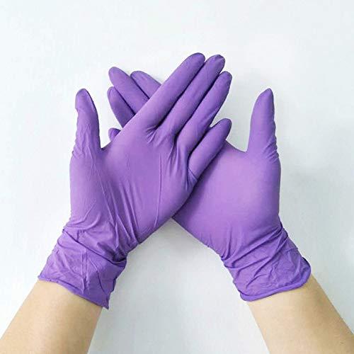 Oferta Caliente 100 Piezas/Paquete Examen de PVC de látex Altamente elástico para protección, bacterias y Aceite Multicolor
