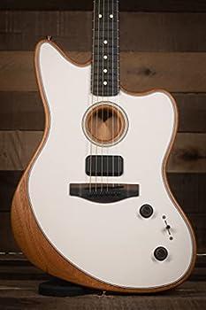 Fender American Acoustasonic Jazzmaster Arctic White Ebony Fingerboard