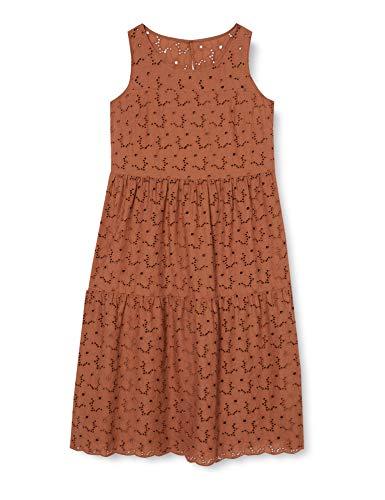 Vera Mont Damen 6006/4686 Kleid, Braun (Sienna 7207), (Herstellergröße: 38)