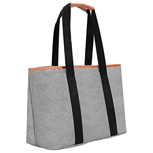 Women's Waterproof Shoulder Tote, Casual Shoulder Bags with Nylon Zipper Closure, Large-Capacity Work Travel Bags