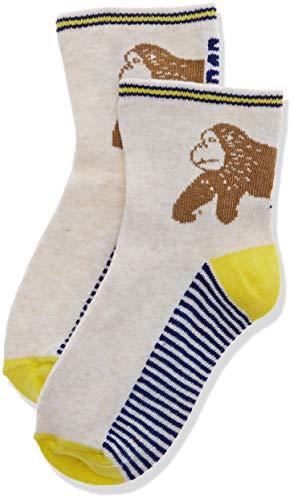 Catimini CQ93022 CHAUSSETTES, Socken, Ecru (COQUILLE 17), 3-4 ans (Herstellergröße:25/26), Baby-Jungen