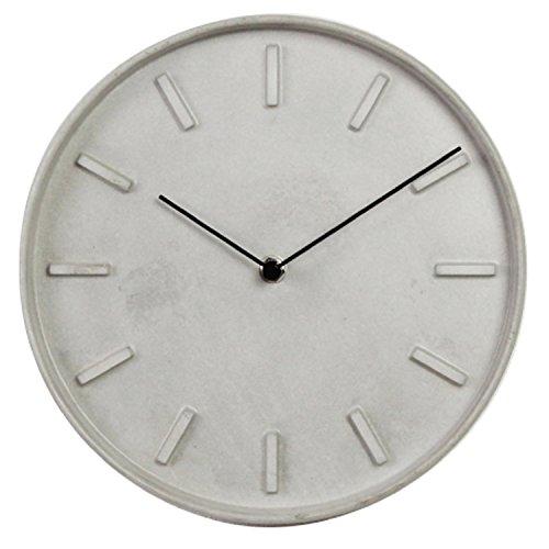 壁掛け時計 ベトン クロック φ25×4.3cm 2026