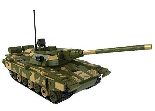 Bausteine Panzer T-90 Russischer Panzer, 780 Klemmbausteine, Konstruktionsspielzeug