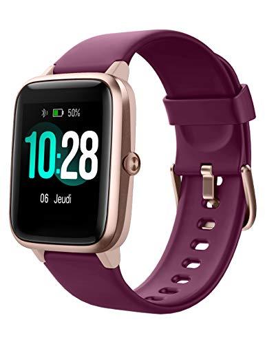 fitness tracker google YAMAY Smartwatch Orologio Fitness Donna Uomo Smart Watch Android iOS Contapassi Cardiofrequenzimetro da polso Orologio Sportivo Bluetooth Touch Conta Calorie Activity Tracker IP68 con Cronometri