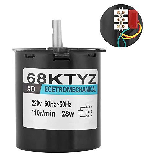 Synchronmotor, 68ktyz Ac220v 28w Permanentmagnetmotor Synchron-Getriebemotor für Instrumentenautomations-Bühnenlampen und Werbeanzeigen(#4)