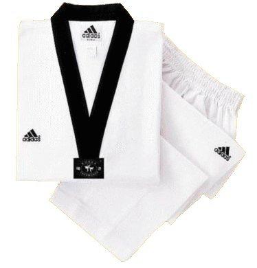 Taekwondo Dobok Adichamp schwarzes...