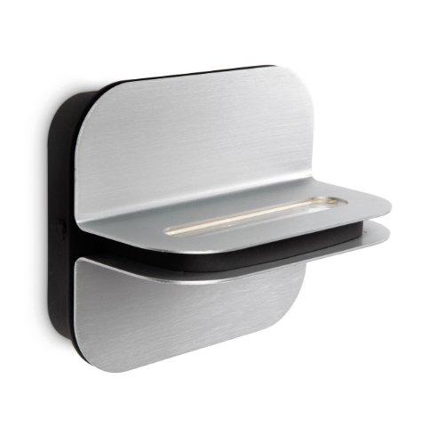 Philips myLiving Patra 332574816 Led-wandlamp, 2 lampen, aluminium