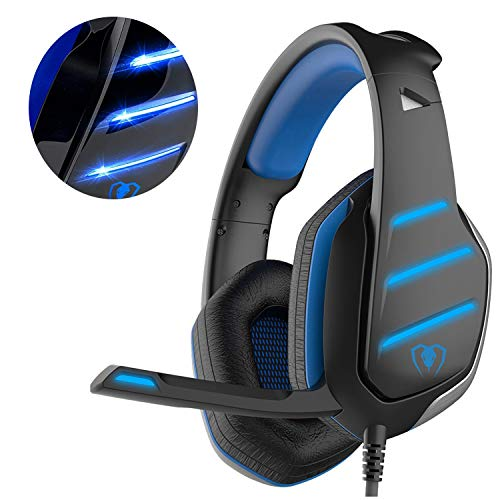 Beexcellent GM-3 Auriculares Juego Xbox one PS4, Auricular