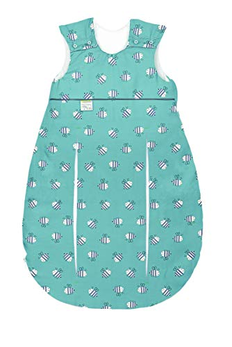 Set Odenwälder Baby-Schlafsack Prima Klima & Stoffwindel von Kinderhaus Blaubär   Ganzjahresschlafsack längenverstellbar   leichter Schlafsack atmungsaktiv