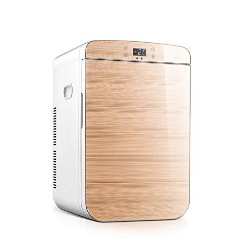 NYGJMNBX Houten koelkast, 25 liter, voor auto, muto verwarmingsbox, draagbaar, wijnkoeler, wijnkoeler, voor auto, camping, outdoor