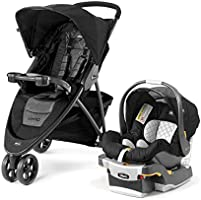 Chicco Viaro Travel System Black
