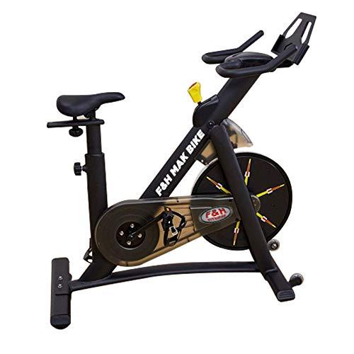 MAK BIKE | Bicicleta indoor Mak Bike | Spinning | volante de inercia 22 kg | entrenamiento intensivo indoor F & H FITNESS