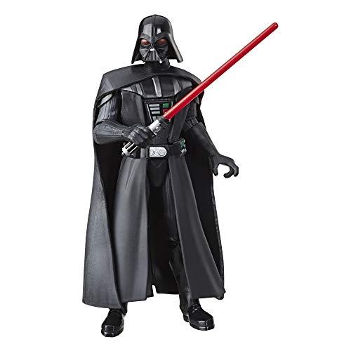 Star Wars Galaxy of Adventures Darth Vader - Action Figure giocattolo ispirata alla trilogia originale con azione divertente