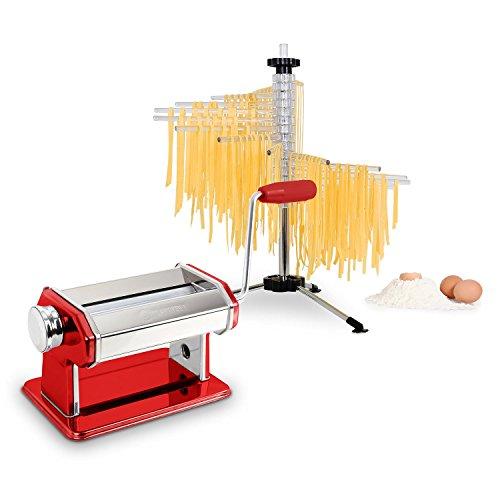 KLARSTEIN Siena Rossa Máquina de Pasta...