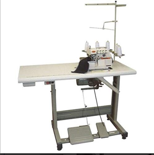 Best Deals! High Speed Industrial Serger Overlock Interlock Siruba Table+Motor (Yamata FY757A-516M2-...
