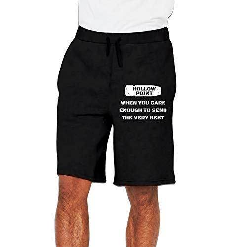 NOT Hollow Point Send The Very Best Sweatpants Mens Trousers Sport Short Pants Joggers Short Pants 5 Minutes Pants Black