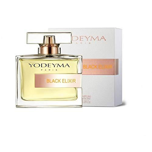 Yodeyma Black Elixir, 100ml, perfume de mujer correspondiente a Black Opium
