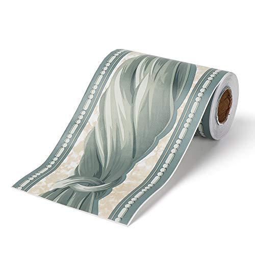 bayolong Pegatinas de vinilo impermeables de PVC para borde de pared autoadhesivas, para zócalo o rodapié, línea de la cintura, papel pintado (5)