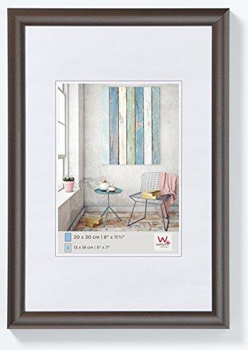 walther design KP040D Trendstyle Kunststoffrahmen, 30x40 cm, stahl