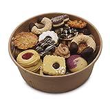 Kekse handgemacht in bunter Keksmischung 600g in der wiederverschließbaren BioBox: Handgemachte Kekse ohne Ei