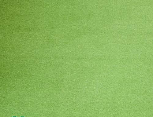 Teppichboden Auslegware Vorwerk Bijou UNI Grün Muster