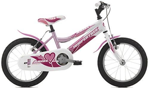 Fahrrad Zyklen Cinzia 16Ariel bimba1V Pink/Weiß 9301