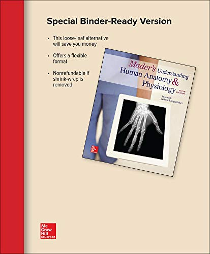 GEN COMBO LL MADERS UNDERSTANDING HUMAN ANATOMY & PHYSIOLOGY; CONNECT ACCESS CRD
