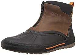 top 10 clarks rain boots Clarks Bowman Top Men's Ankle Boots, Dark Brown Leather, 120 M US