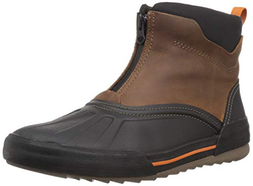 Clarks Men's Bowman Top Ankle Boot, Dark tan Leather, 095 M US