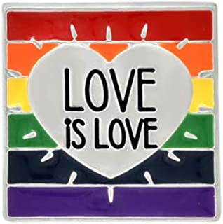 party favor gift love is love Enamel Pin Free Shipping Sending Positive Vibes Oh RTS brooch Enamel Pin