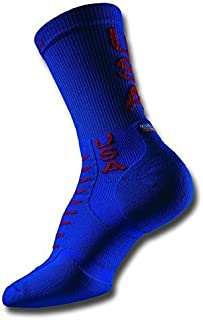 Thorlo Experia USA Crew Socks,Usa,W5-6.5