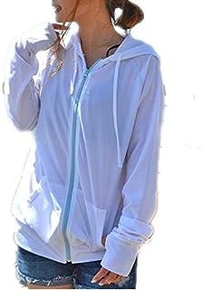 22色/UPF50+ UV対策 レディース ショート/ロング/フリル/ ラッシュガード パーカー 長袖 ラッシュパーカー 水着 UVカット