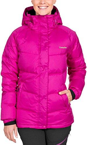 Twentyfour Damen Daunen Jacke Seven Warme in Vielen Farben, Neonhimbeer, 36