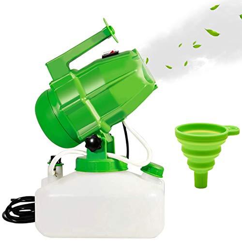 Joyhoop 5L Nebulizzatore per Ambienti, Elettrico Disinfezione Spruzzatore, 10M-12M Spruzzatura Distanza, Viene Fornito con Una Tracolla E Imbuto, Adatto Interni Outdoor Garden Hotel School Farm