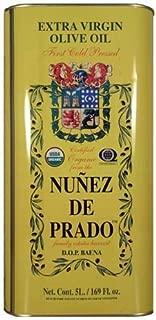 Nunez De Prado, Organic Extra Virgin Olive Oil - 5 liter